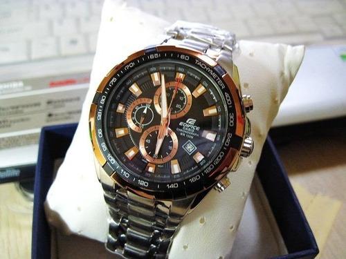 reloj casio edifice ef-539d-1a5v - 100% nuevo y original