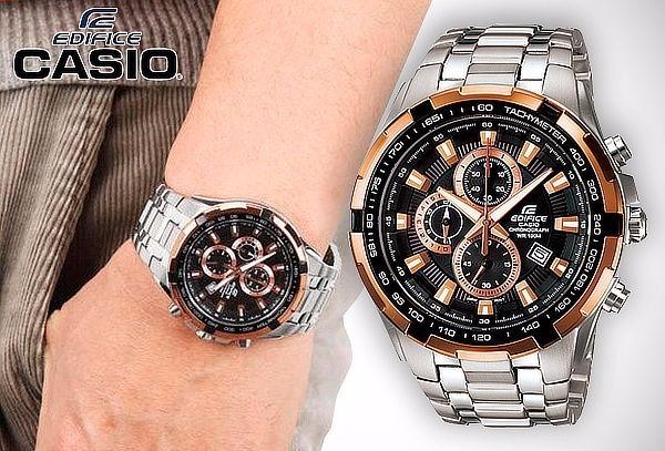 Reloj Casio Edifice Ef 539d 1a5v 100% Nuevo Y Original