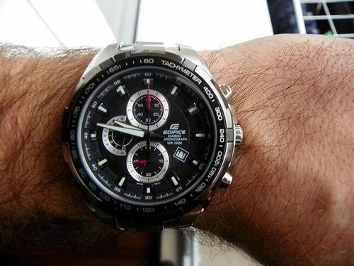 reloj casio edifice ef-539d-1av -100%nuevo sellado original