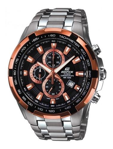reloj casio edifice ef 539d cronografo acero hombre