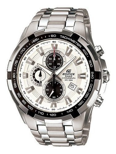 reloj casio edifice ef 539d cronografo acero hombre original
