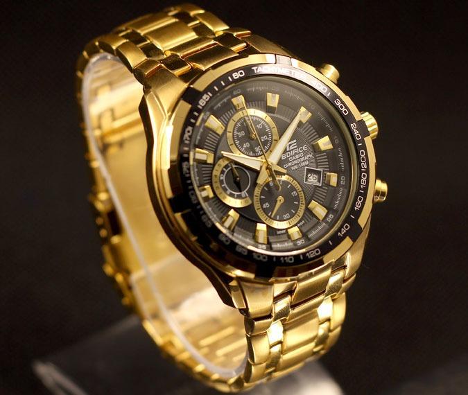 05f91fcf13c5 Reloj Casio Edifice Ef-539fg-1av - 100% Nuevo En Caja - S  339
