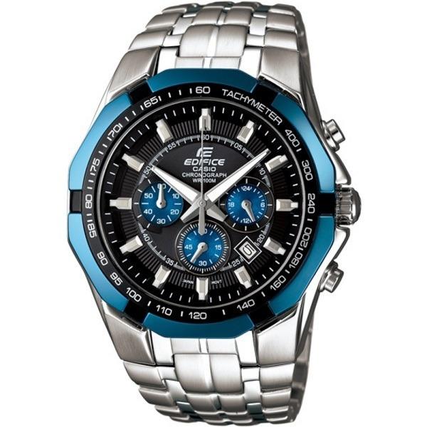 a2577c5ad786 Reloj Casio Edifice Ef-540d-1a2 Plateado Con Cronografo Cr ...