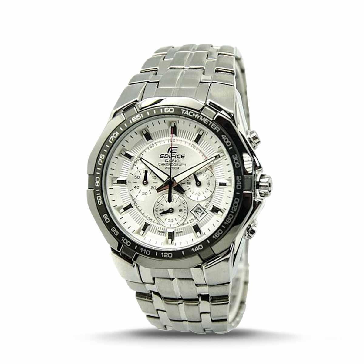 71723dc614ae Reloj Casio Edifice Ef-540d-7a Plateado Para Hombre -   349.900 en Mercado  Libre