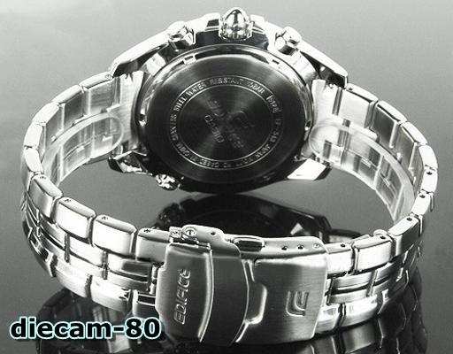 Original Vettel Reloj Ef 543d Cronometro Edifice Casio® YyfmIb6gv7