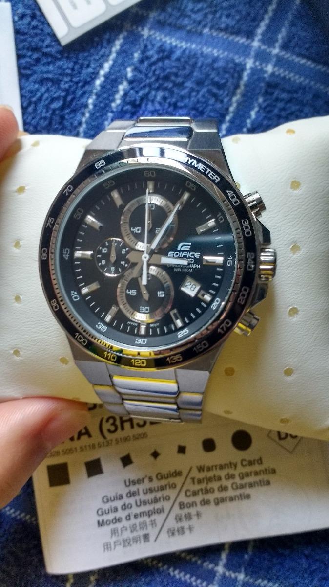 2f86ee5a8722 ... Relojes Pulsera · Hombres · Casio. Compartir. Compartir. Vender uno  igual. reloj casio edifice ef-546d a1a nuevo impecable. Cargando zoom.