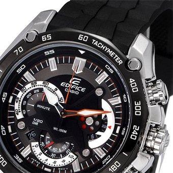 9a3ea6ede9a5 Reloj Casio Edifice Ef-550-1a-negro Con Plateado -   1.140.900 en ...