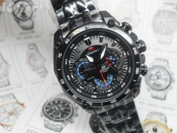 1327e5c8ed27 Reloj Casio Edifice Ef-550bkrb-1av Black Red Bull - Original - S ...
