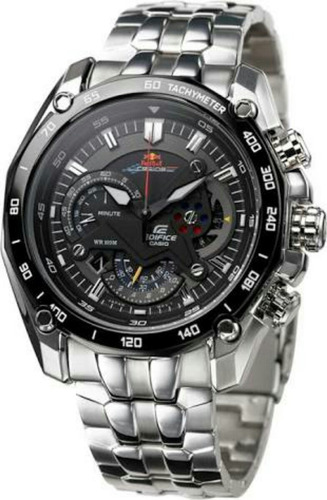 reloj casio edifice ef-550d 1/20 red bull cuotas sin interes