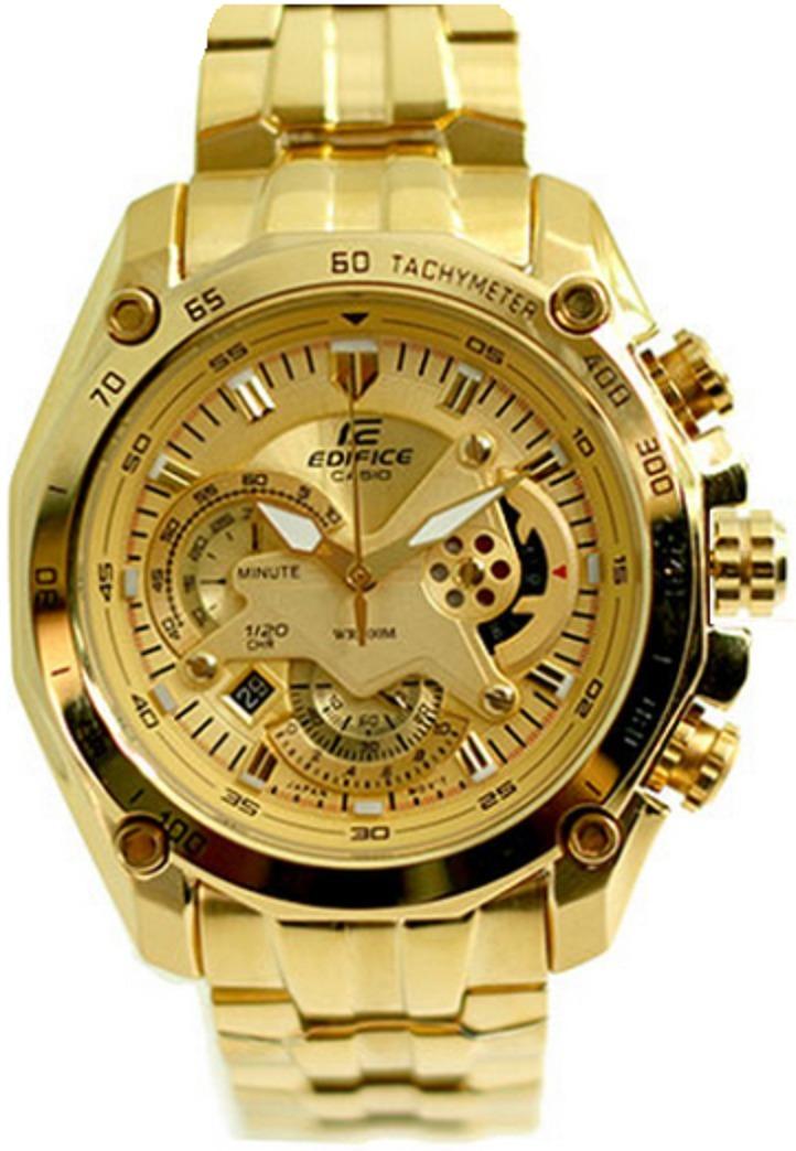 Dorado Edifice Ef 5av 550fg Reloj Casio 100Original KFJ1Tlc