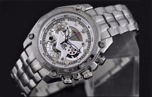 reloj casio edifice ef 550rb-7av racing red bull -limited