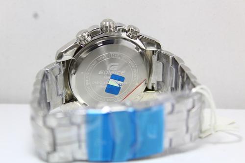 reloj casio edifice ef 550rbsp-1av