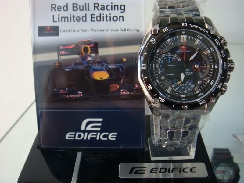 bb6ab1d08de7 Reloj Casio Edifice Ef-550rbsp-1av Red Bull - Original 2018 - S  279 ...