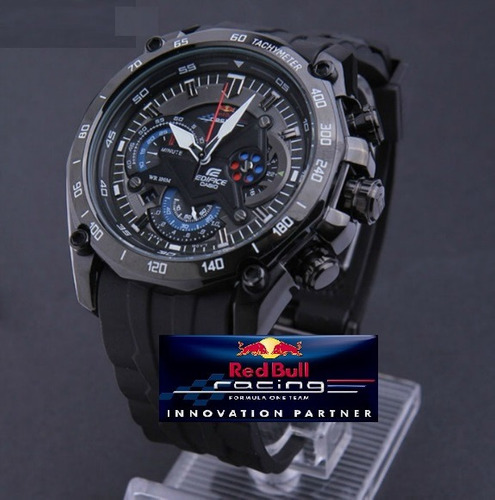 reloj casio edifice ef-550rbsp correa resina 2018 original