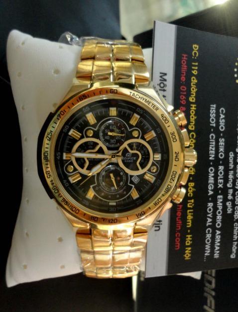 8bb82b98e165 Reloj Casio Edifice Ef-554fg-1av - 100% Nuevo En Caja - S  339