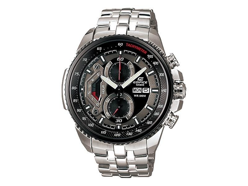 314b6560a637 Reloj Casio Edifice Ef-558d-1a Plateado Para Hombre -   459.900 en Mercado  Libre