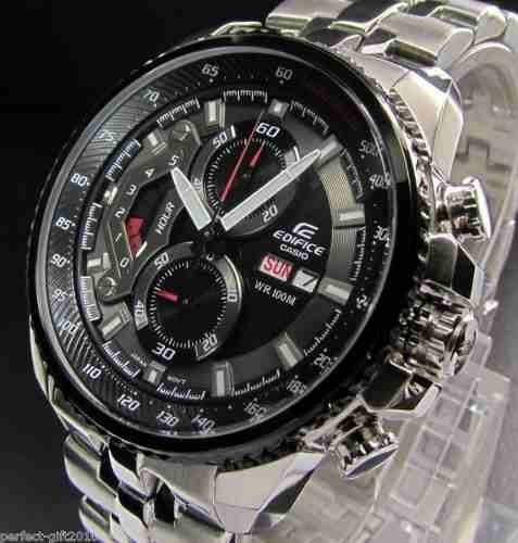 reloj casio edifice ef-558d-1av - 100% nuevo y original