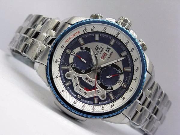 43953e1b0fa5 Reloj Casio Edifice Ef 558d Azul Red-bull 100% Original -   409.000 ...