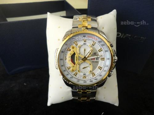 reloj casio edifice ef-558sg-7av - 100% nuevo y original