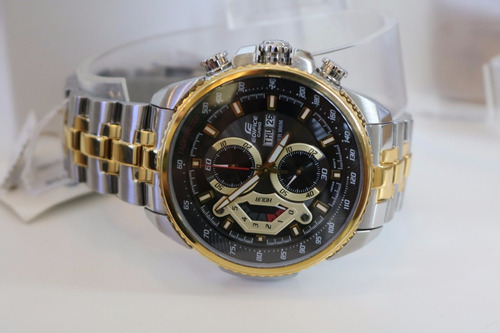 reloj casio edifice  ef 558sg línea  red-bull 100%  original