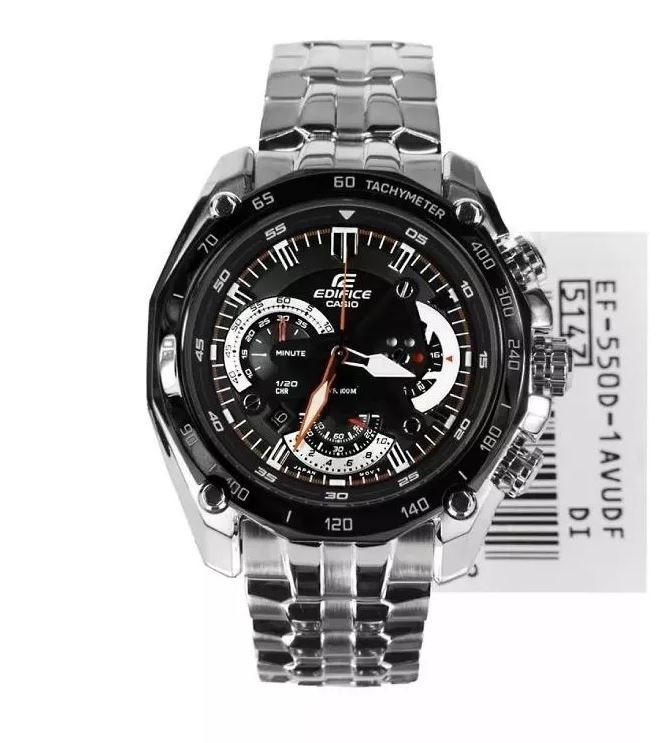 feabcacc050f Reloj Casio Edifice Ef550 Precio Colombia Wr100 Mercadolibre ...