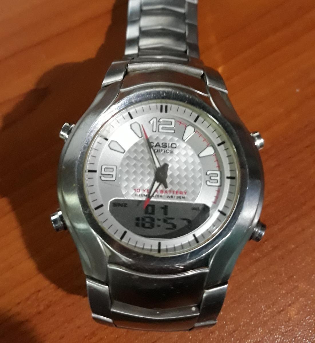 Telememo 3 Cta Reg Alarmas Efa Edifice Crono Reloj Casio 112 n0OPkw