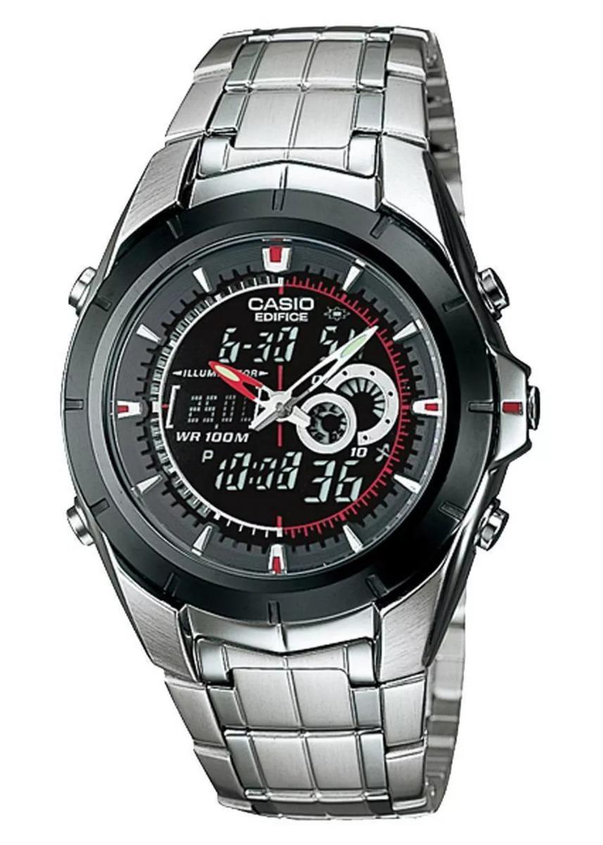 2cd41f1fda39 Reloj Casio Edifice Efa-119bk-1a. Ana- Digi. Termometro. -   5.499 ...