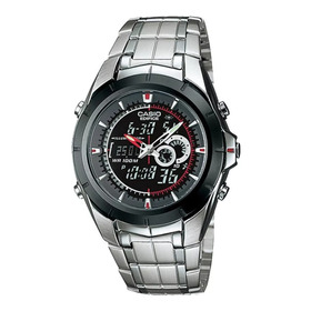 Reloj Casio Edifice Efa 119bk 1a. Analogico- Digital. Nuevo