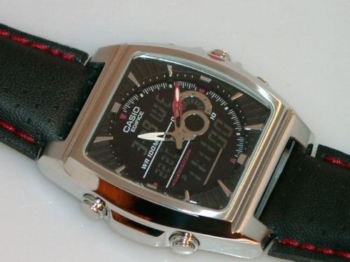 reloj casio edifice efa120l-1a1 digital analogo active dial