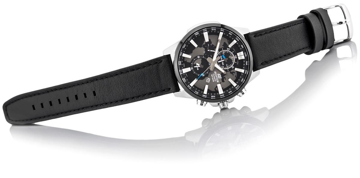 268c673a476a reloj casio edifice efr-303l-1av correa cuero - 100% nuevo. Cargando zoom.