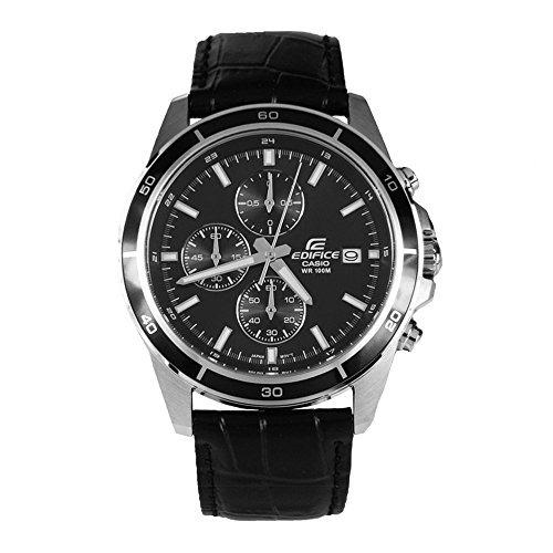 Reloj 526l Casio Negro Efr 1avuef De Edifice Los Hombres 0nOkwP