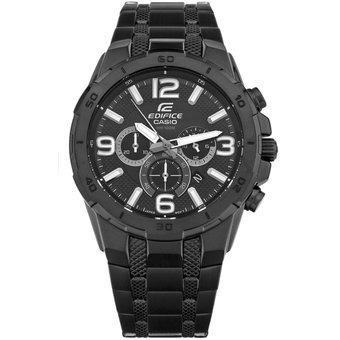 17cb9066a523 Reloj Casio Edifice Efr-538bk-1av Nuevo En Caja 2018 - S  379