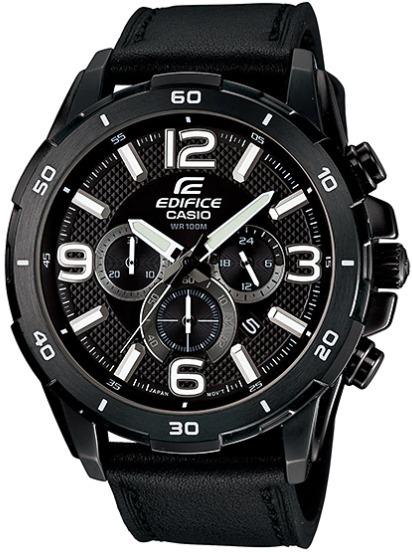 a77e2f635840 Reloj Casio Edifice Efr-538l-1av Correa Cuero - 100% Nuevo - S  359 ...