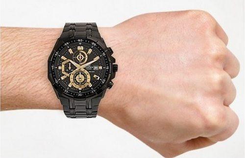 reloj casio edifice efr-539bk-1av - 100% nuevo y original