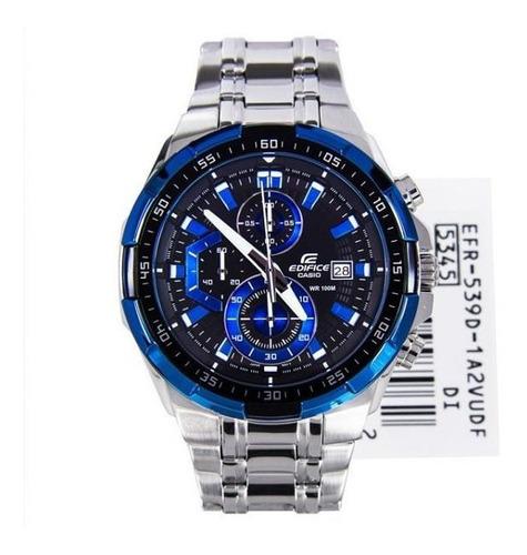 reloj casio edifice efr-539d-1a2v - 100% nuevo y original