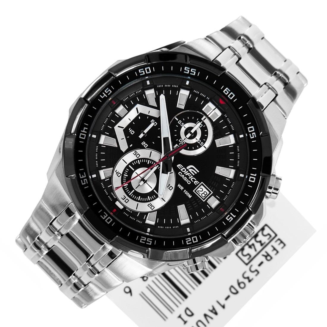 894994acc3a1 Reloj Casio Edifice Efr 539d-1av Precio Acero Inoxidable -   228.900 ...