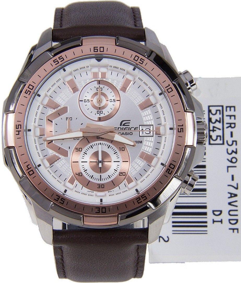 a8c8ef68eca2 Reloj Casio Edifice Efr-539l-7av - 100% Nuevo Y Original - S  349