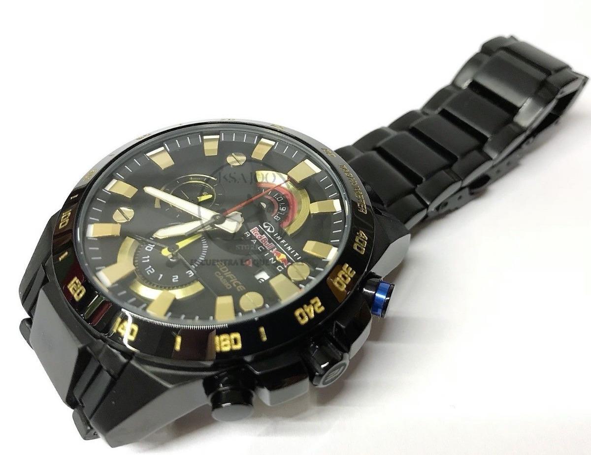 15161fd260cc reloj casio edifice efr 540 negro rosa red bull new advanced. Cargando zoom.