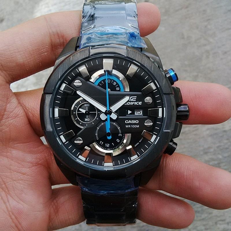 dff76a3a9864 reloj casio edifice efr-540bk-1av - 100% nuevo en caja. Cargando zoom.