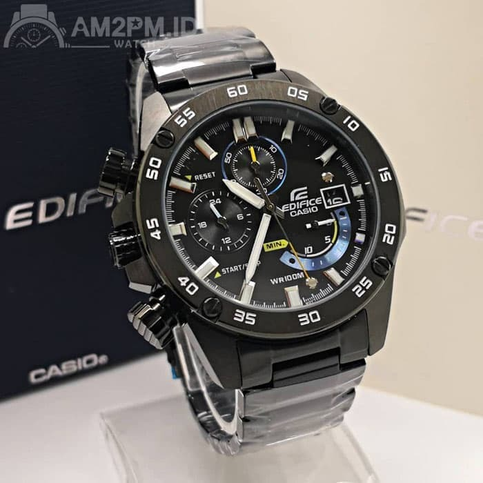 e0cde1511fb3 Reloj Casio Edifice Efr-540bk-1av - 100% Nuevo En Caja - S  345