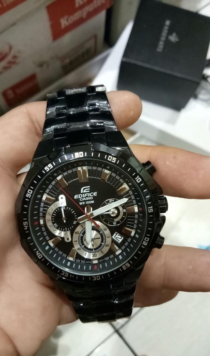 3b61dd5565ee Reloj Casio Edifice Efr 554 Negro Pavonado Lujo Elegante -   259.990 ...