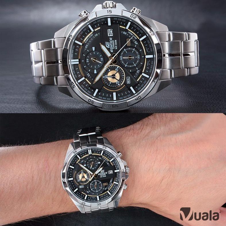 Reloj Casio Edifice Efr 556d 1av Acero Hombre