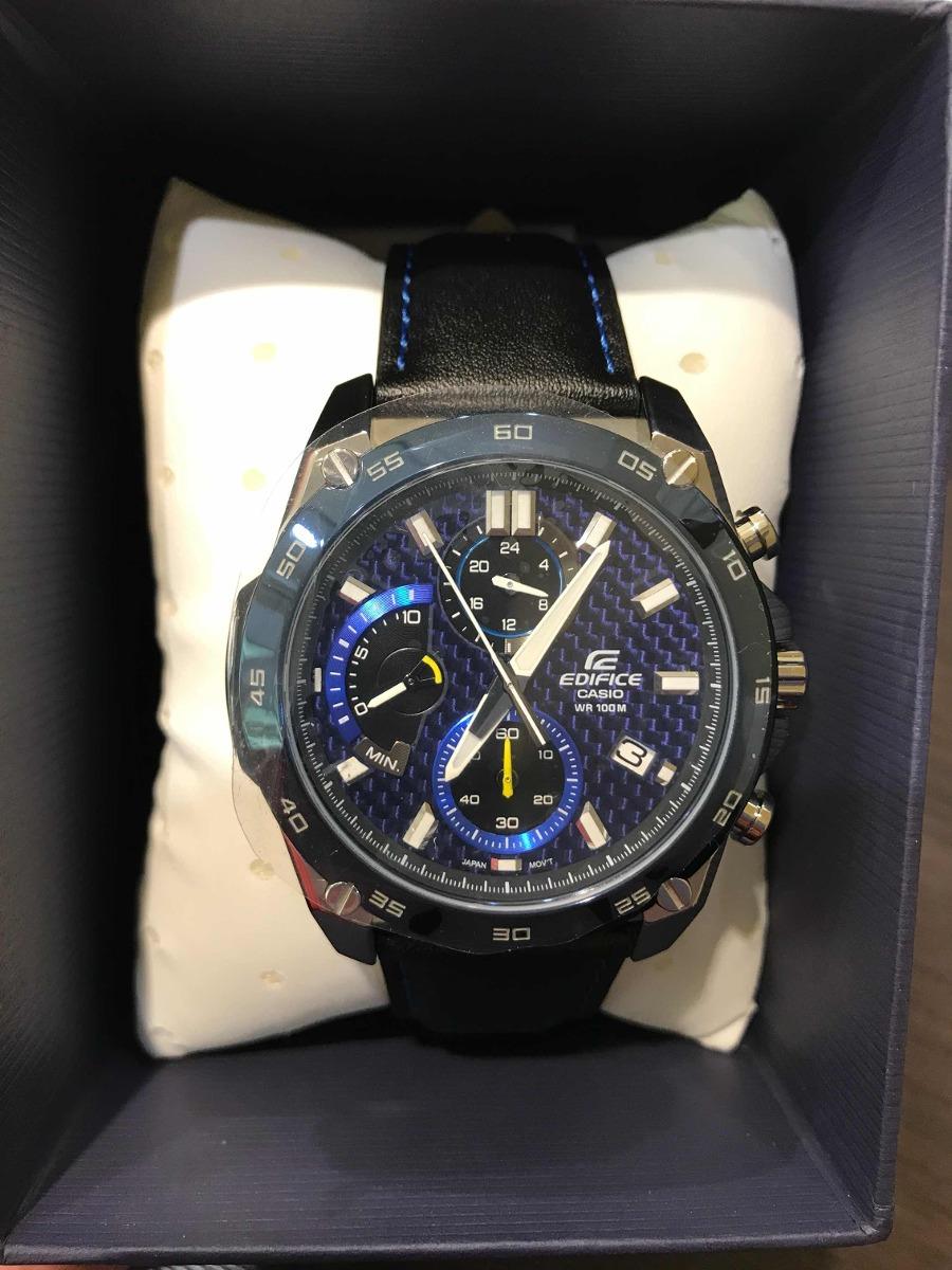 9b0db92749cb reloj casio edifice efr-557bl hombre sumergible caja acero. Cargando zoom.