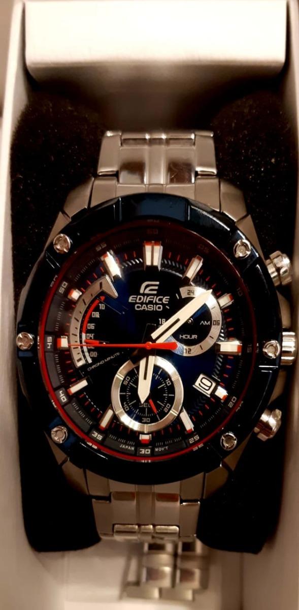 9cc97482f75c Reloj Casio Edifice Efr-559tr-2a Edición Limitada Toro Rosso ...