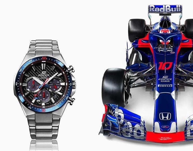 d4e36e2c6a89 Reloj Casio Edifice Efs-s520tr Edición Limitada Toro Rosso ...