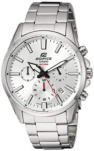 reloj casio edifice efv-510d acero cronografo 100% original