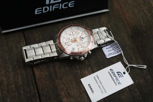 reloj casio edifice efv-540d-7bv c/ numero de serie original