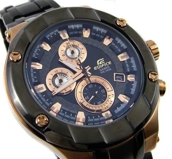 53986bae0078 Reloj Casio Edifice Efx 500 Cristal Zafiro -   13.200
