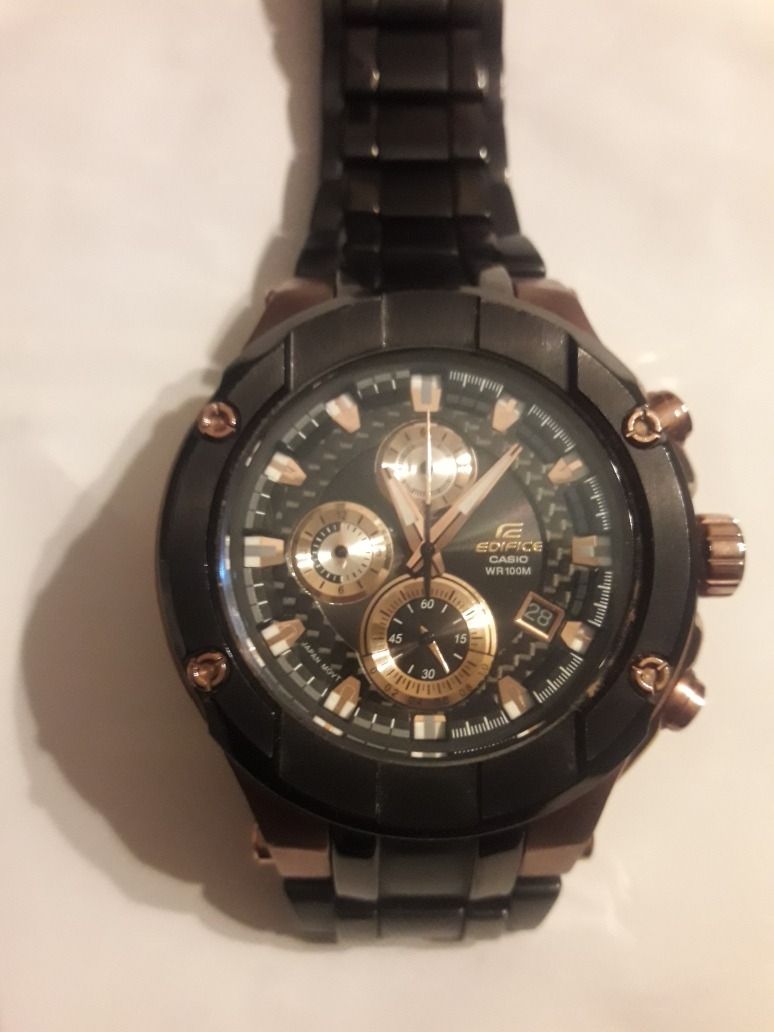 068df5732 reloj casio edifice efx500 cuadrante carbono vidrio zafiro. Cargando zoom.