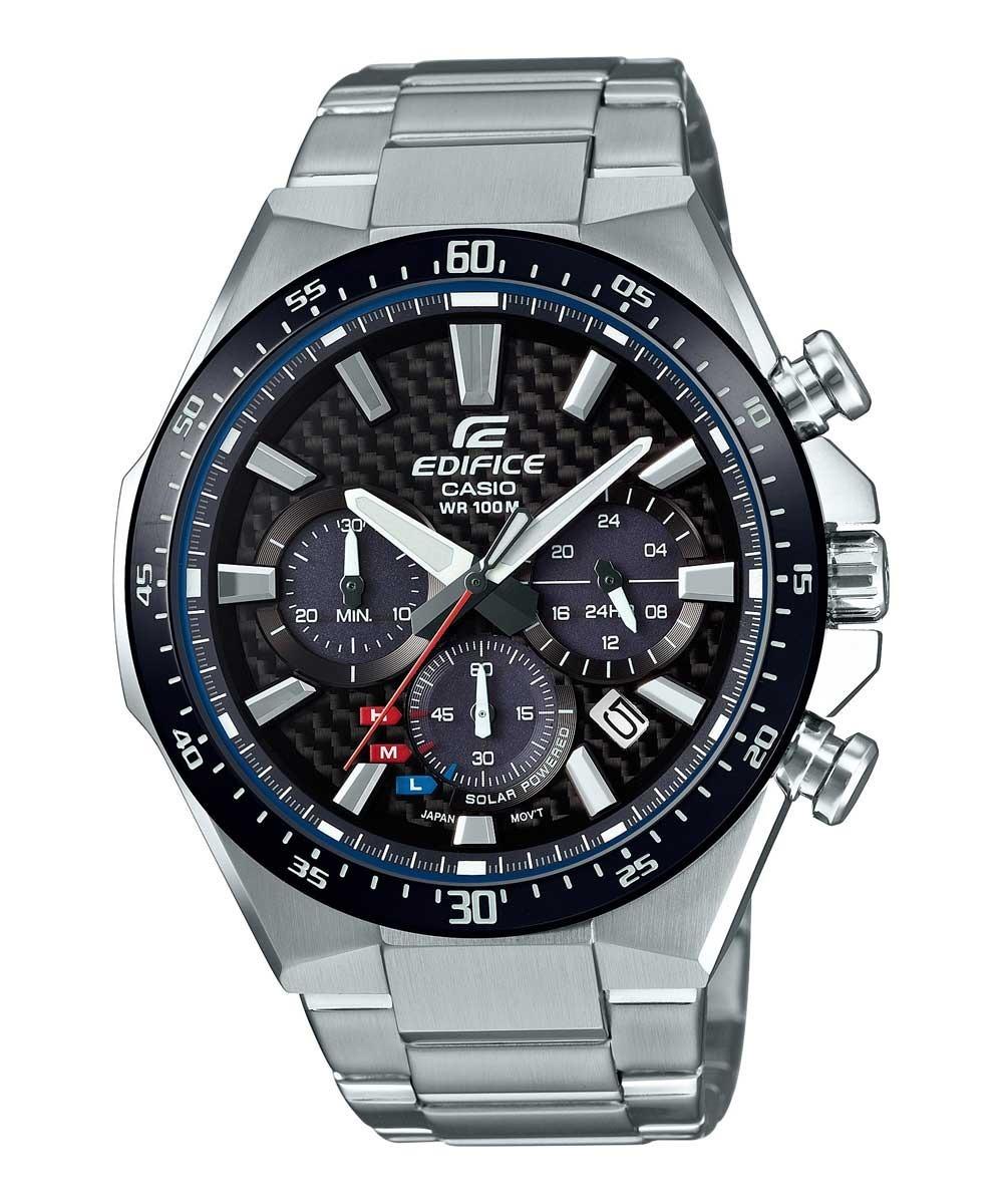 f49634f39a05 reloj casio edifice eqs 800 solar acero cronometro fechador. Cargando zoom.
